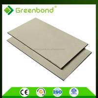 Greenbond decorative wood cladding fireproof board material acm panel