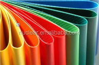 Waterproof 100% Polyester PVC Coated Fabric Tension Structure