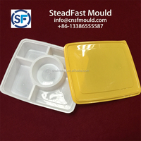 COMPARTMENT FAST FOOD THIN WALL PLASTIC CONTAINER MOULD