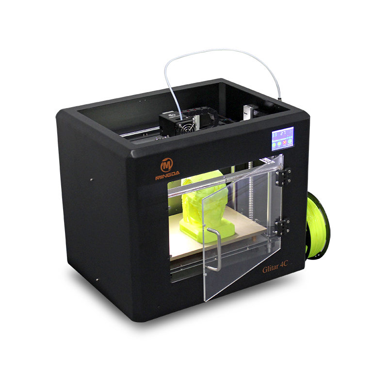 3d machine HOT SALES Mingda Glitar4C industrial 3d printer/ t-shirt printing machine/desktop 3d printer for sale, Dropshipping