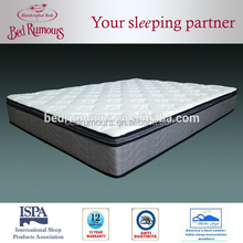 Super comfort box spring mattress Hotel and home use Container loads of much quality with reasonable price