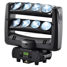 LED Stage Lighting Moving Head Beam 8x10W Each RGBW 4in1 LED Spider Light