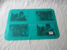 picture insertable window table mat