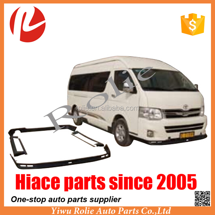 Under siege surrounded body kit for Toyota hiace KDH 200 2010-2013 wide body 1880 auto parts