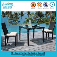 Great Cheap Outdoor Furniture Plastic Wicker Dining Table Melbourne