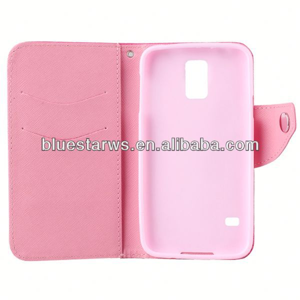 cover case for moblie phone cell phone case for samsung s5 pu leather case