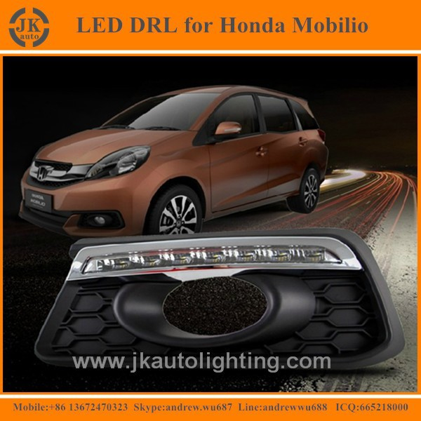 New Arrival Best Selling LED Daylight for Honda Mobilio LED DRL High Quality LED Daytime Running Light for Honda Mobilio