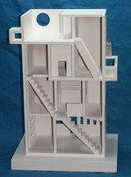 New Design Wholesale Cheap Unfinished Wooden Doll House