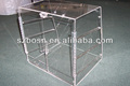 Clear Transparent Acrylic Bakery Case 2 tiers Food Display