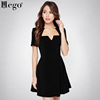 /product-gs/hego-2015-a-line-v-neck-cotton-fashion-dress-hot-elegant-dress-black-with-free-shipping-h1435-60393267624.html
