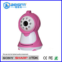 New design indoor security camera long time recording 2.4ghz wireless baby monitor camera mobile phone viewing BS-W233