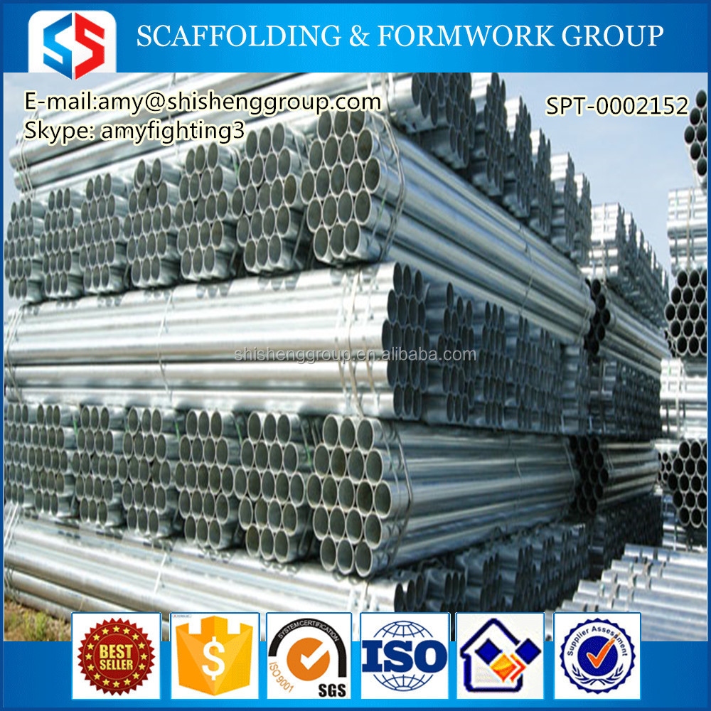 Tianjin SS Group Furniture decoration galvanized steel pipes price