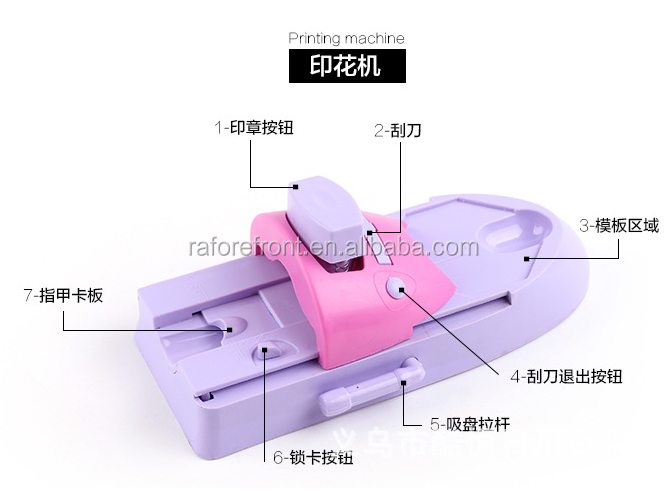 Artificial nail printing machine H0Tws nail art printer 3d nail