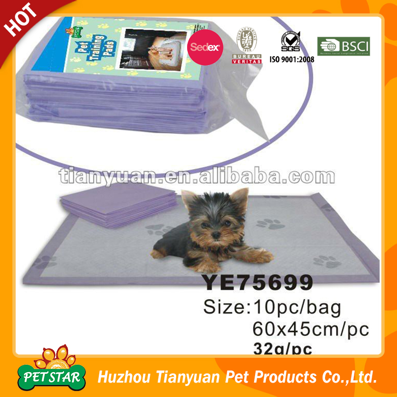 Eco-Friendly Disposable Dog Training Pads Pet Training and Puppy Pads
