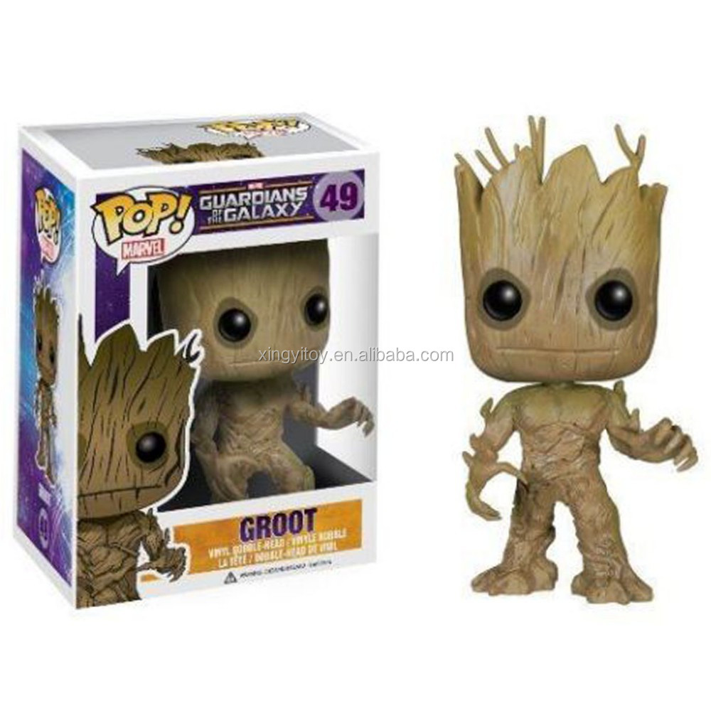 New Funko POP!Guardians of The Galaxy POP Dancing Groot #49 Vinyl Action Figure