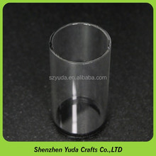 Transparent Acrylic Tube with black base for measuring