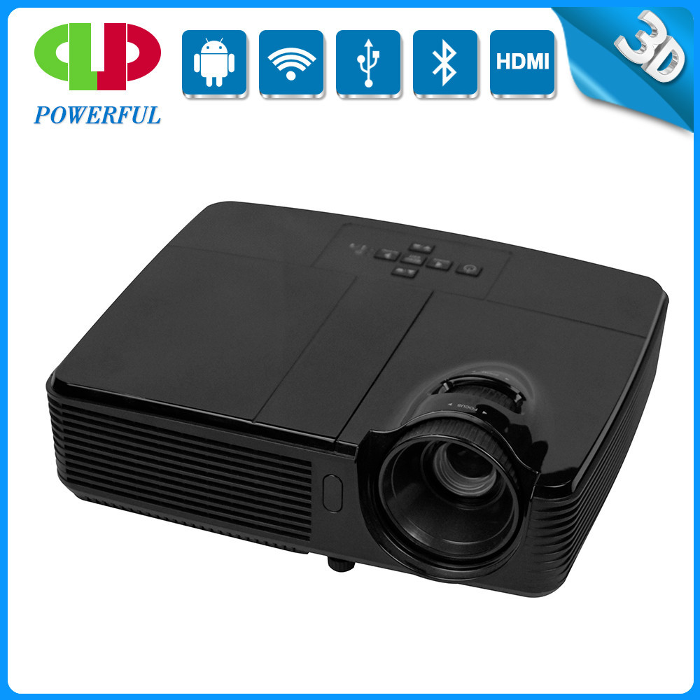 2015 Newest full hd dlp 1080P 3d led projector with 3500 lumens