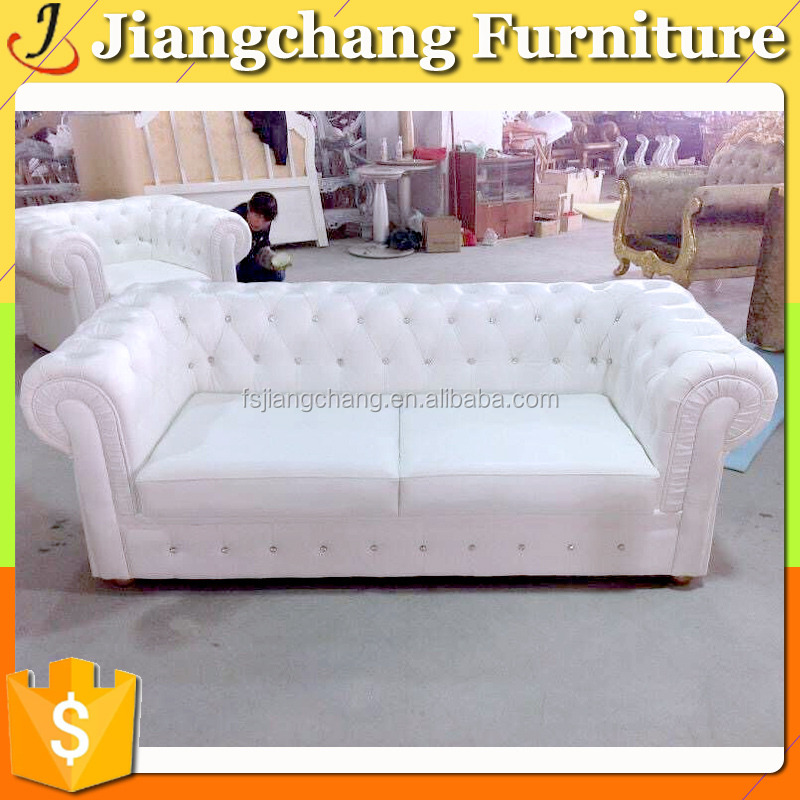 Hotel Hall Home Furniture Simple Design Two Seaters Sofa JC-SF1612