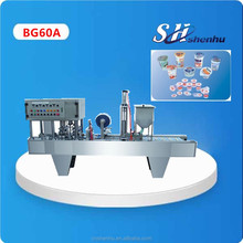 China original hot automatic cups pastefilling sealing machine price CE standard 1 years warrantee