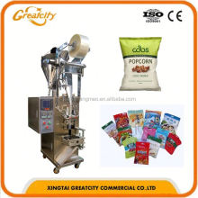 Automatic packaging machine / vertical granule popcorn cashew nut potato chips packaging machine