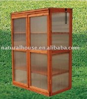 Item WGH-760 Wooden Green House with Sun Hollow Sheet