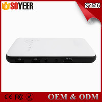 Hot wifi pico projector cheap Smart projector with Android OS CPU quad-core