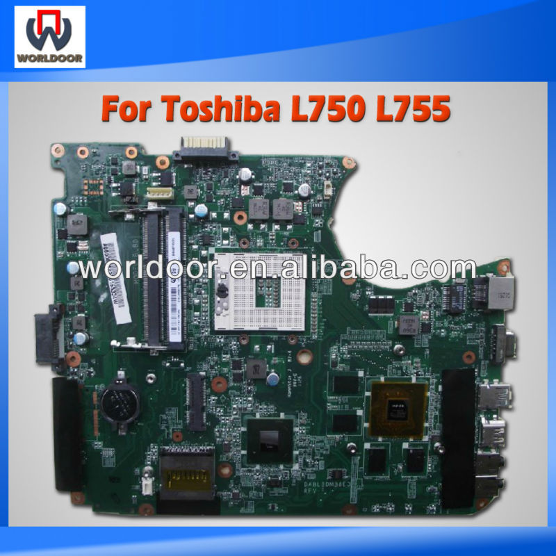 100%Working For Toshiba L750 L755 Laptop Motherboard A000080820