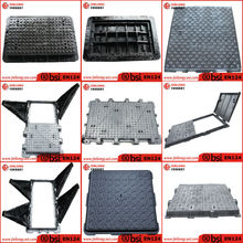 cast iron EN124 telecom manhole cover