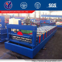 Wall Panle Roof Tile Making Machinery, Colored Metal Steel Panel Roll Forming Machine