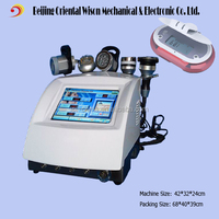 5 in 1 RF Cavitation Bio led portable face vacuum suction