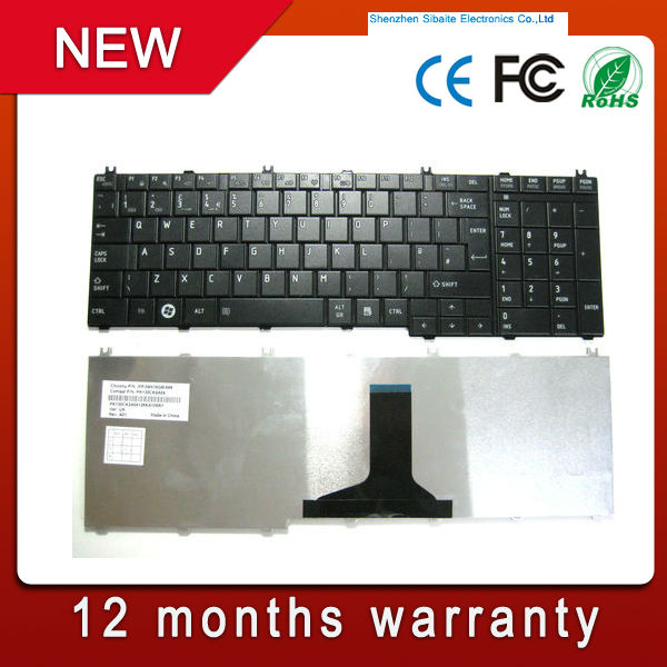 For toshiba laptop backlit keyboard L655 L655D C655 C655D C650 C650D L650 Laptop Keyboard New
