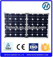 mono folding solar panel 80w with controller and bracket for home use