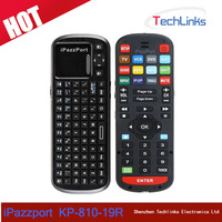 iPazzPort 2.4G Mini Handheld Wireless Keyboard With Universal Remote Control For Android Smart TV