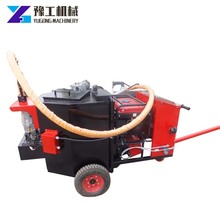 Electric road surface crack-pouring machine for construction