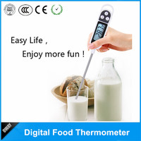 Cheap price LCD display BBQ instant read meat thermometer fast food digital thermometer