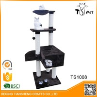 Customized pet product import,cat tree cat bed