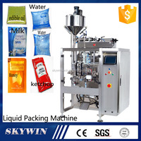 Automatic Pure Water Sachet Liquid Milk Pouch Packing Machine Price