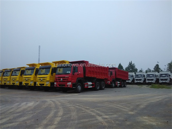 Sinotruck brand 6x4 dump truck with high quality