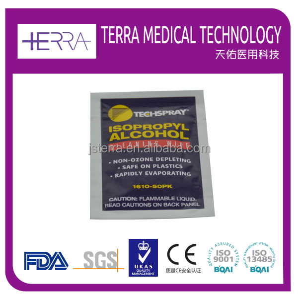 Speed Clean Pharmaceutical/Medical Isopropyl Alcohol Antiseptic Wet Pad/Wipes - Wholesale Wipes