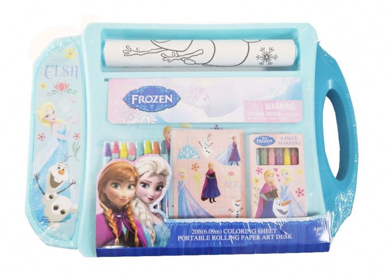 children frozen crayon water color pencils , kids drawing painting art kits set