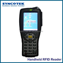Support Wi-Fi and Communicate With LAN By Wireless Network UHF RFID Handheld Reader SR-HU300