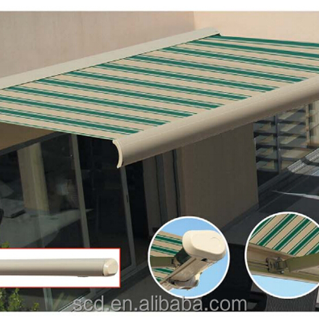 Full Cassette Motorized Retractable Awnings