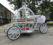 Beautiful cinderella carriage for wedding/used cinderella pumpkin horse drawn carriage for sale