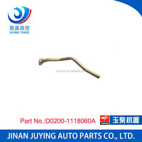 Wholesaler D0200-1118060A yuchai engine parts turbo oil pipe supercharger oil return pipe for promotion