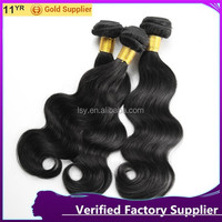 "6A top quality virgin human hair weave 8""-30"" mixed length body wave hair brazilian hair extension"