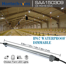 chicken farm Dimmable waterproof 30W led light tubes t12 8ft, stickable led light, T12 LED Stick