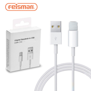 Original For iPhone Charger Cable Foxconn Cable e75 Chip Lighting to USB Date Cable for iPhone Charger X Xr Xs Max 8 7 6 5
