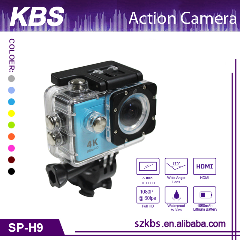 Hot Selling 2.0 inch Sports DV best 4K Action Camera Full HD 1080P