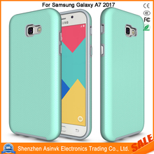 Shock Absorbent Armor Dual Layer Hybrid Defender Protective case For Samsung Galaxy A7 2017