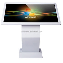 New products infrared double touch screen FHD 46 inch internet lcd kiosk display totem